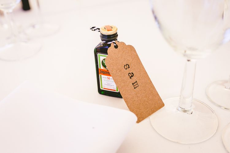 Jager Wedding Favours