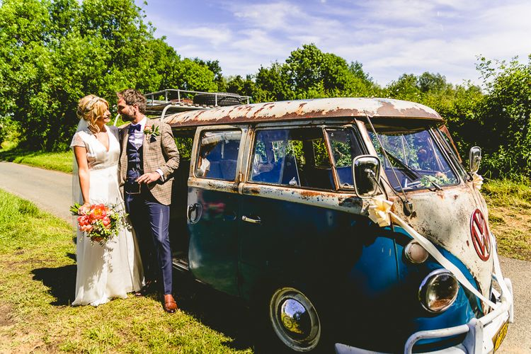 Vintage VW For Wedding Car