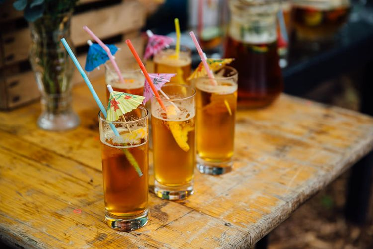 Pimms Wedding Cocktails