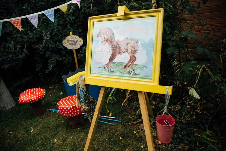 Pin The Tail on The Donkey Wedding Garden Games