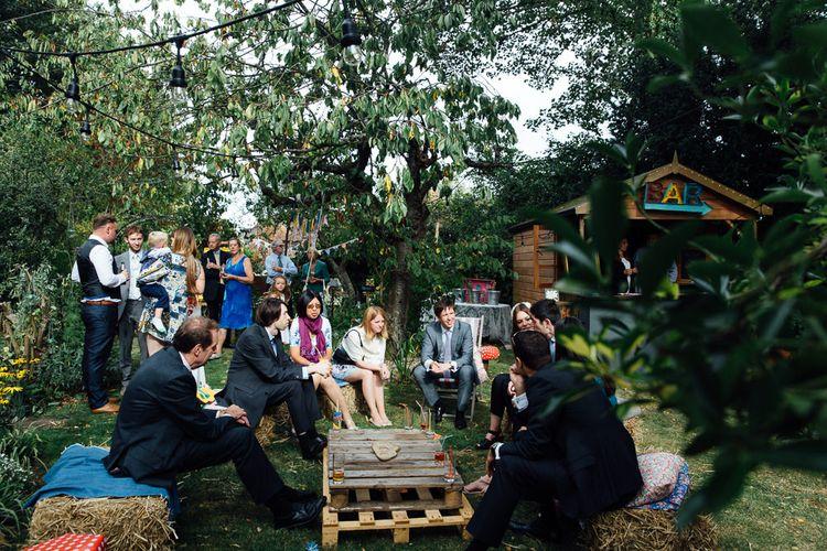 Back Garden Wedding Seating Area