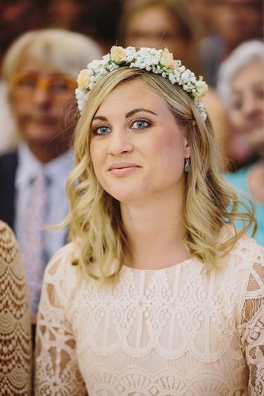 Bridesmaid Flower Crown | Raquel Benito Photography