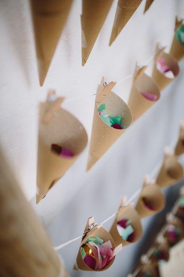 Confetti Cones | Raquel Benito Photography