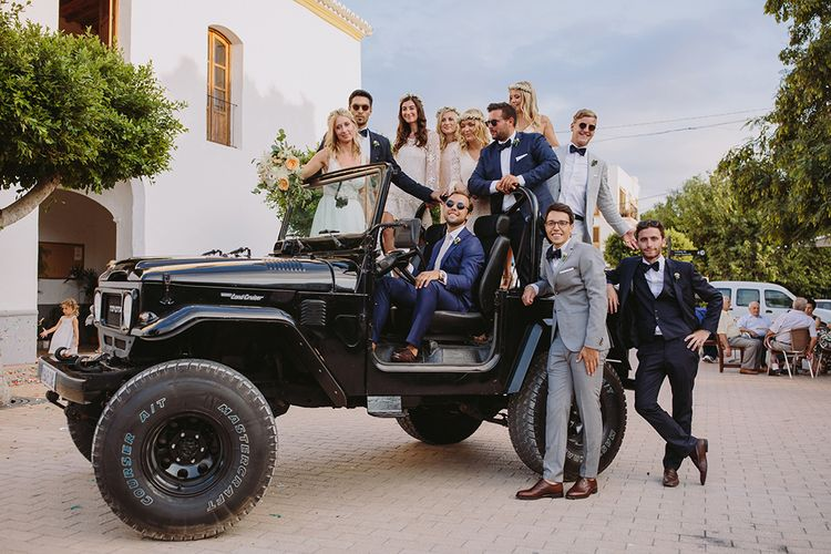 Wedding Party Picture | Raquel Benito Photography