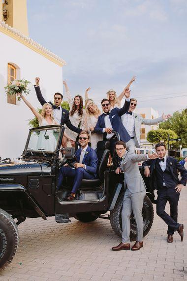 Squad Goals | Bride & Bridesmaids | Wedding Party | Raquel Benito Photography