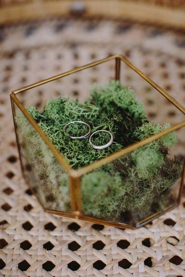 Ring Box | Outdoor Las Cicadas Ibiza Destination Wedding | Raquel Benito Photography
