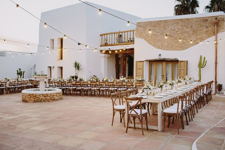 Outdoor Las Cicadas Ibiza Destination Wedding | Raquel Benito Photography