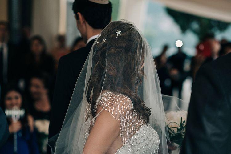 Bride with Mermaid Hair & Veil | Jason Mark Harris Photography | Harris Films