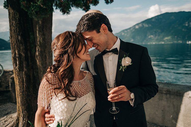 Bride & Groom | Bellagio Lake Como Wedding Venue | Jason Mark Harris Photography | Harris Films