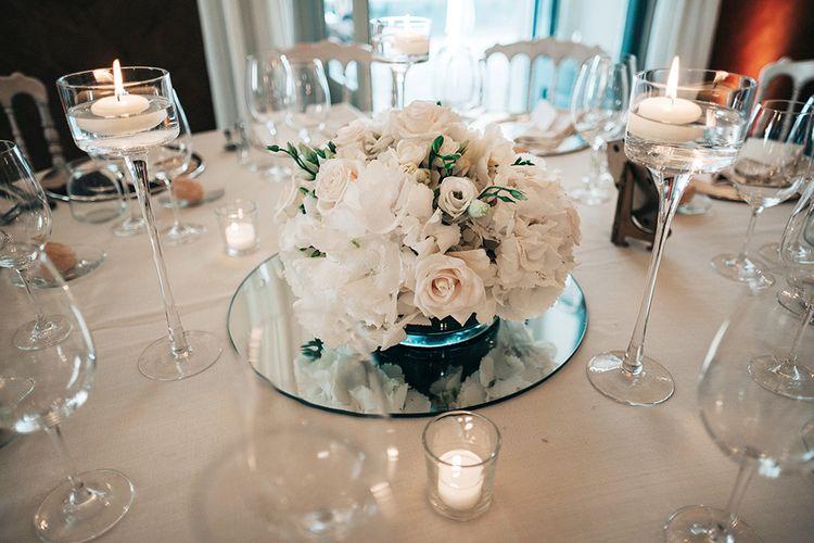 White Floral Centrepieces | Jason Mark Harris Photography | Harris Films