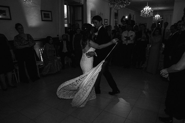 First Dance | Bride & Groom | Bellagio Lake Como Wedding Venue | Jason Mark Harris Photography | Harris Films