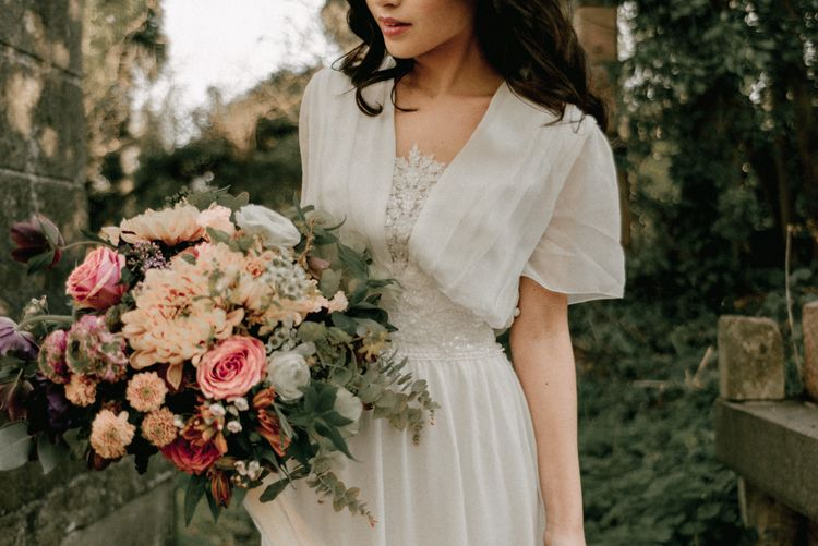 Nostalgic & Romantic Wedding Inspiration At Gothic Nunhead Cemetery London With Images From Wanderlust Creatives