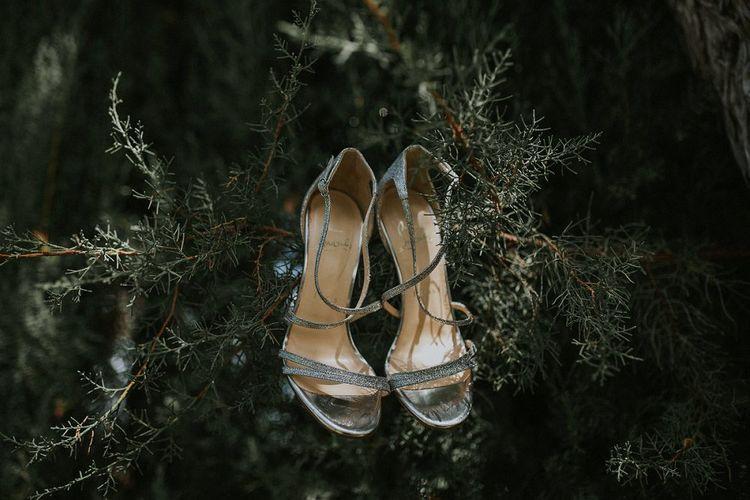 Silver Christian Louboutin Sandals