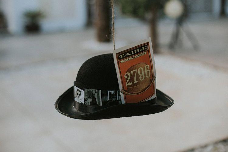 Bowler Hat Table Plan