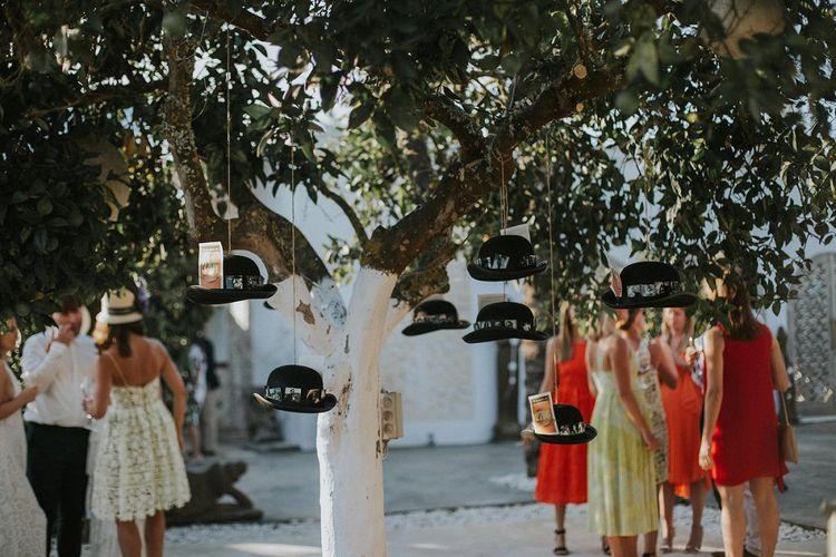 hanging Bowler Hat Table Plan