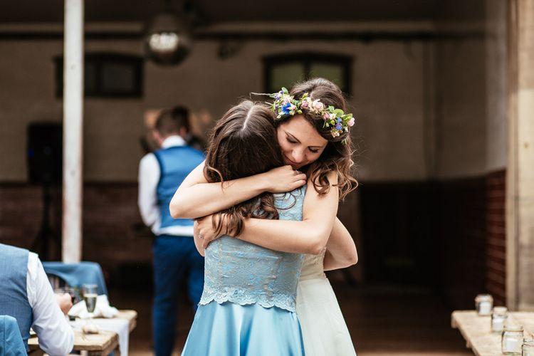 Bride & Bridesmaid Hugs