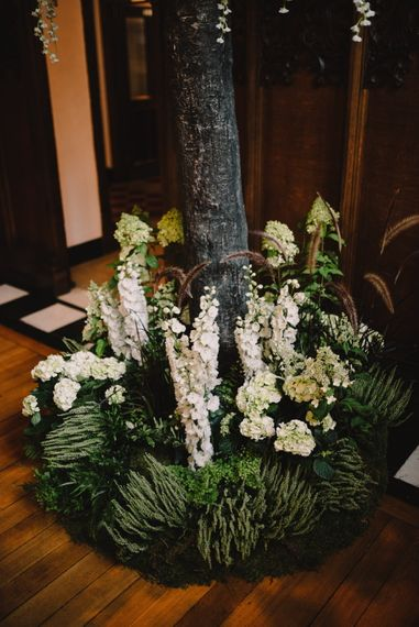 Wisteria Tree Altar Focal Point