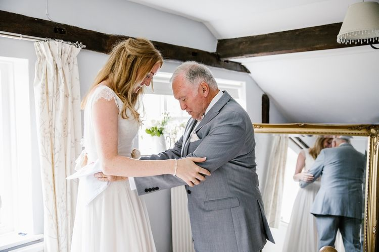 Father Of The Bride On Wedding Morning