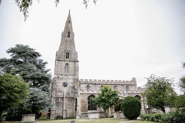 Church Wedding At St Andrews Kimbolton