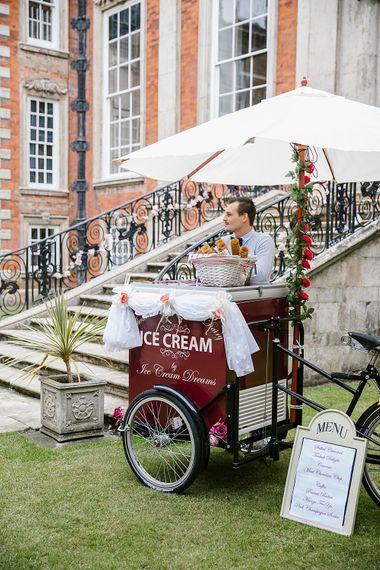Ice Cream Bike For Wedding