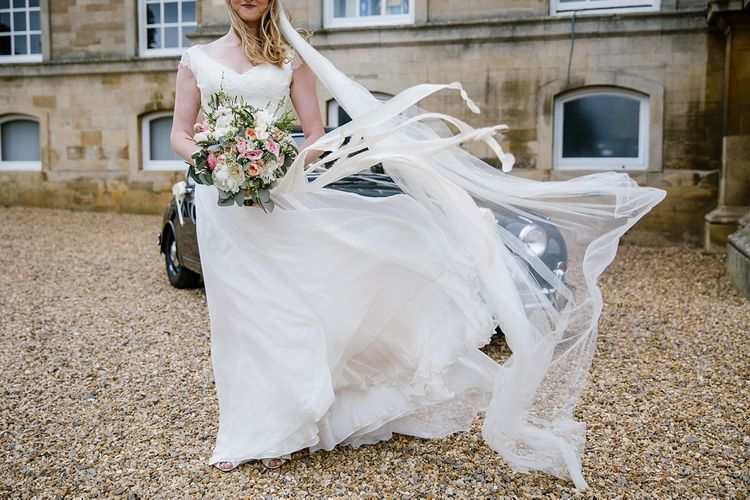 Esme By Naomi Neoh Wedding Dress For A Classic Pastel Wedding At Kimbolton Castle With Images By Katherine Ashdown