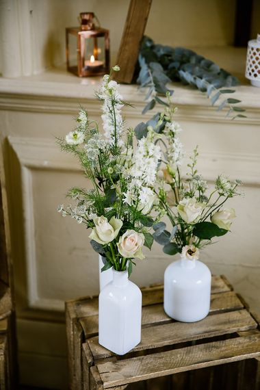 Pastel Floral Details For Classic Wedding