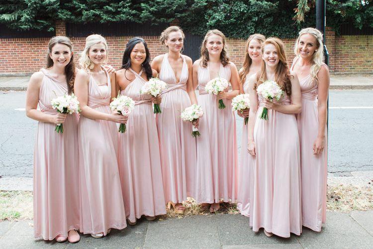 Debenhams Pink Multiway Bridesmaid Dresses