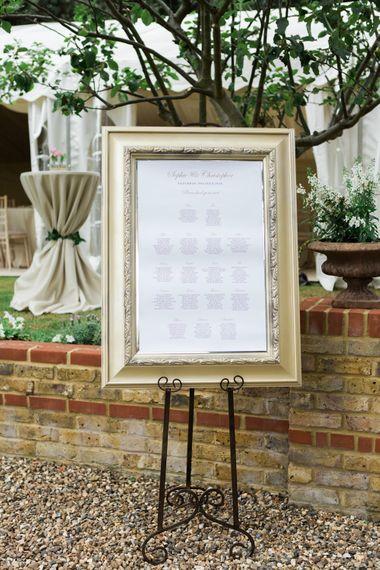 Elegant Table Plan