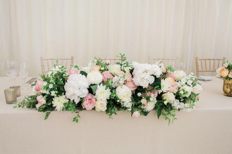 Top Table Floral Arrangement