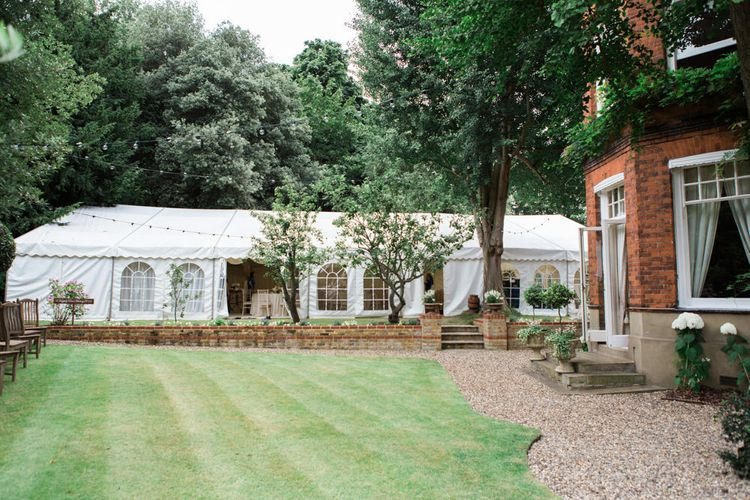At Home, Back Garden, Marquee Reception