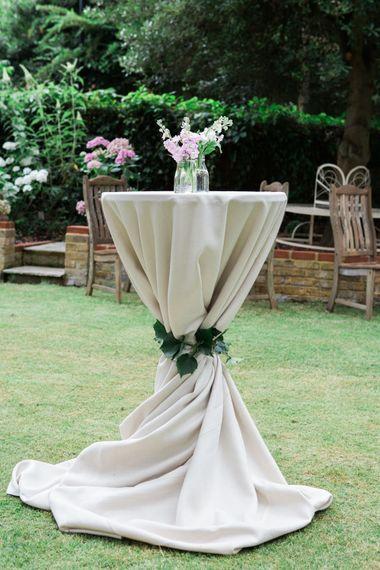 Poseur Garden Party Table