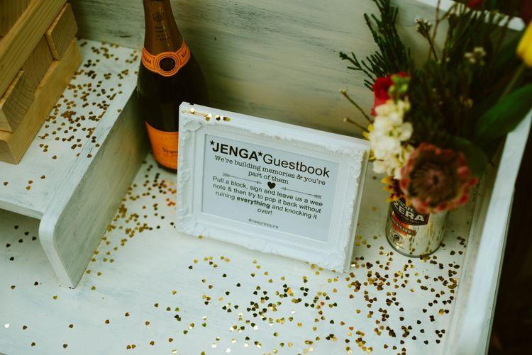 Jenga Guestbook