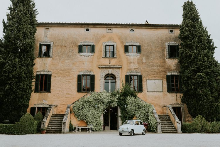 Villa di Ulignano Wedding in Italy