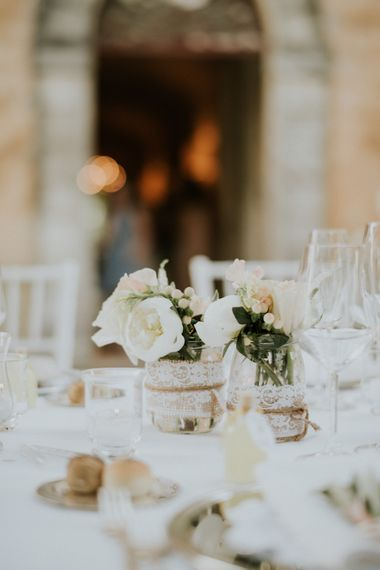 Pastel Wedding Flowers Destination Wedding Italy