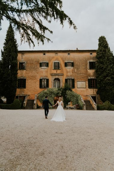 Wedding In Italy At Villa di Ulignano