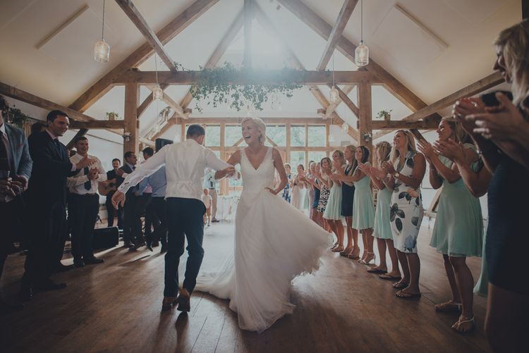 Wedding Reception at Nancarrow Farm Cornwall