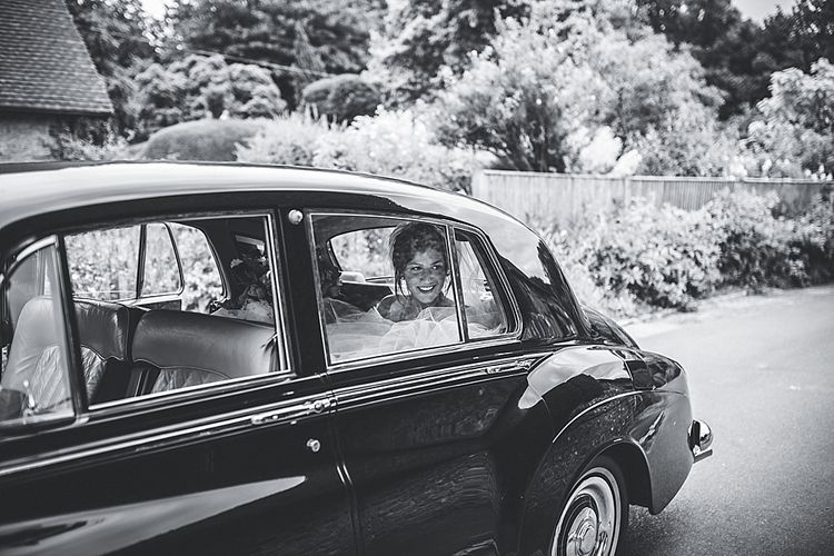 Vintage Bentley Wedding Car
