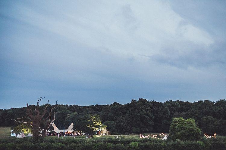 Rustic Tipi Wedding At High Billinghurst Farm