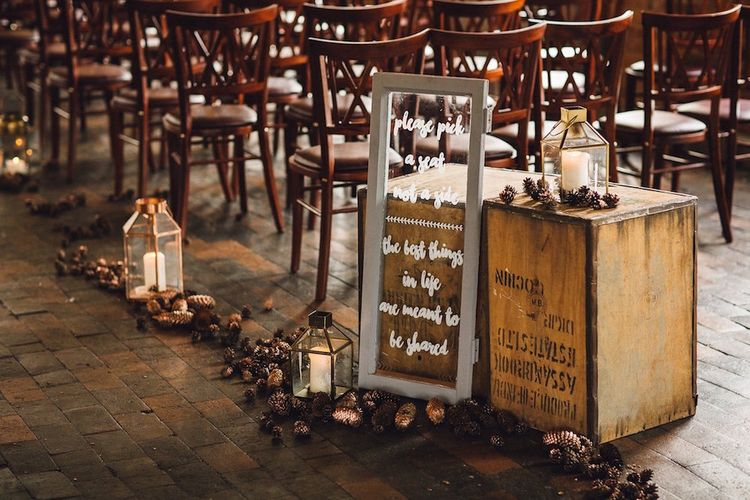 Autumn Wedding At The West Mill Derby