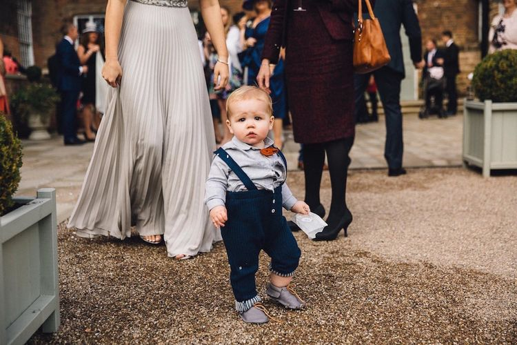 Adorable Little One At Wedding
