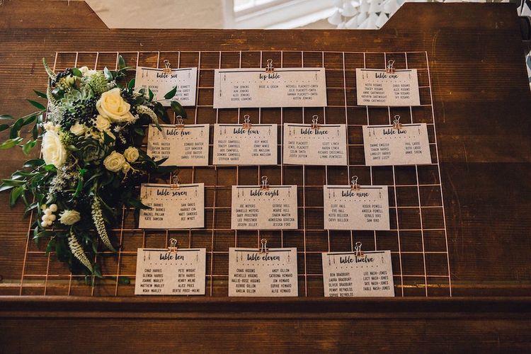 Industrial Table Plan