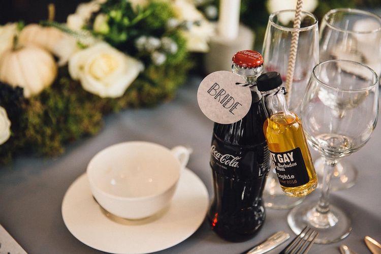 Rum & Coke Wedding Favours