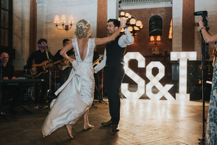 Bride & Groom First Dance | Light Up Letters from Coco Luminaire