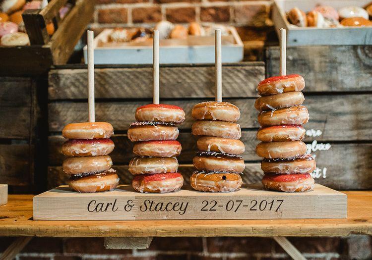 Krispy Kreme Wedding Tower