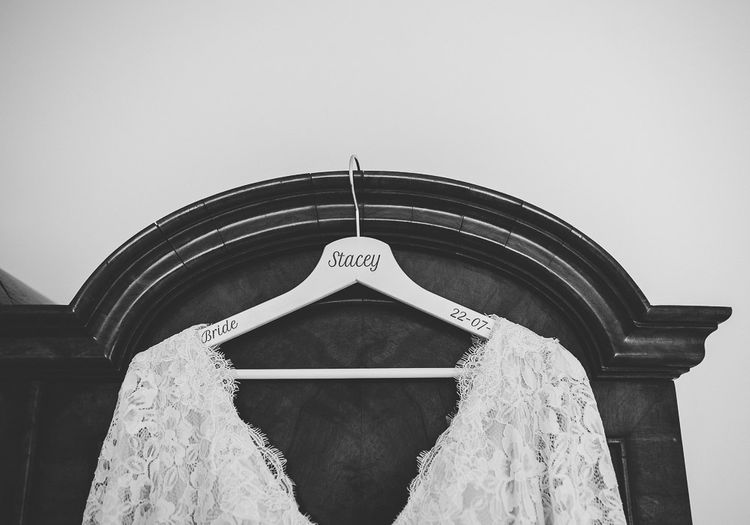 Personalised Hanger For Bride's Gown