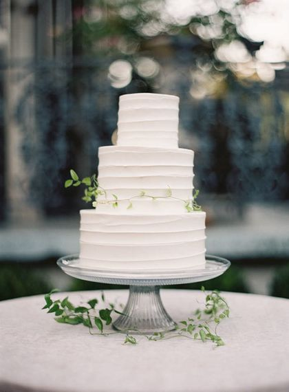 "Buttercream Wedding Cake | Summer Styling Redefined | Image via <a href=""https://www.oncewed.com"" rel=""noopener"" target=""_blank"">Once Wed</a> 