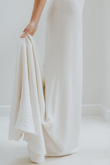 "Charlotte Simpson Wedding Dress | Summer Styling Reimagined | Dress by <ahref=""https://www.rockmywedding.co.uk/new-bridal-collection-charlotte-simpson/"" rel=""noopener"" target=""_blank"">Charlotte Simpson</a>"