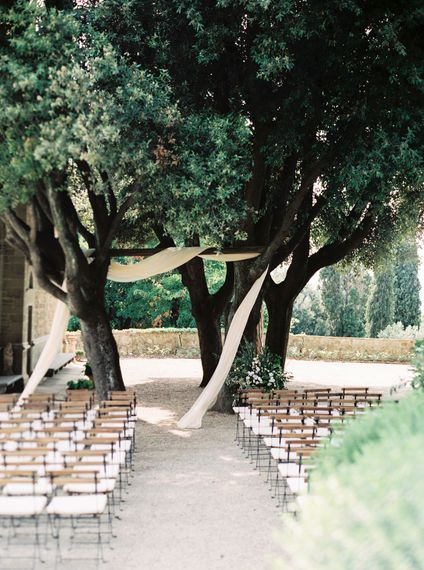 "Outdoor Wedding Ceremony | Summer Styling Reimagined | Styling by <a href=""https://www.averybelovedwedding.com"" rel=""noopener"" target=""_blank"">A Very Beloved Wedding</a> 