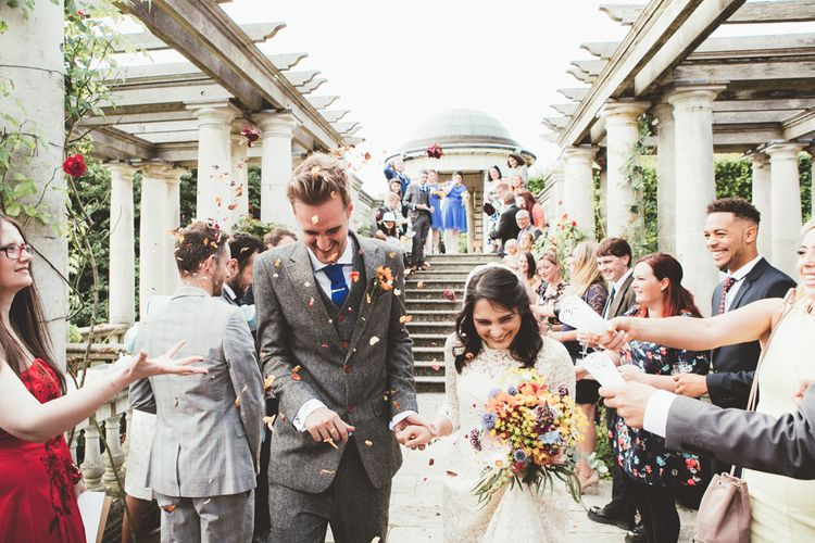 Intimate Wedding In London At Golders Hill Park Pergola