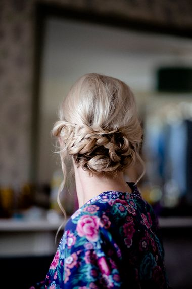 Braided Bridal Up Do | Eleanor Howarth Photography